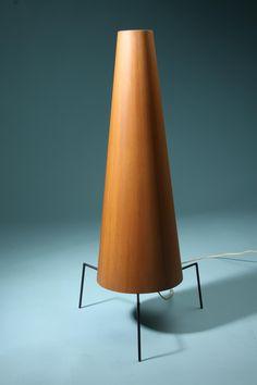 Floor lamp, designed by Jørgen Wolf for Torben Ørskov