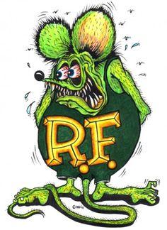 "Ed ""Big Daddy"" Roth Tribute Thread! Ed Roth Art, Cool Car Drawings, Rat Fink, Garage Art, Kustom Kulture, Monster Art, Pinstriping, Big Daddy, Automotive Art"