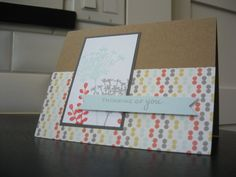 Thinking of You Card by apaperaffaire on Etsy, $2.75