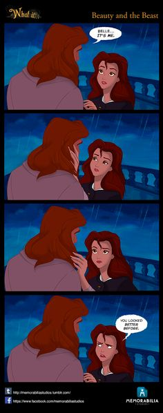 What If...Episode 3: Beauty and the Beast. Don't miss our Facebook page and our Tumblr Blog! :)