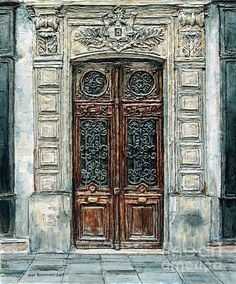 Title anaylsis painted door