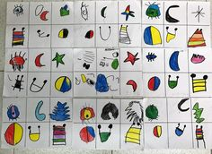 Joan Miro, Art For Kids, Art Projects, How To Draw Hands, Gallery, Drawings, Crochet, Pictures, Hand Drawn