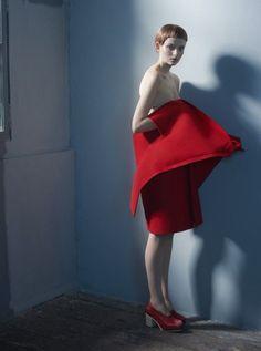 Idoménée Fashion Book Spring/Summer 2013: Comme des Garçons by Sophie Delaporte (21 photos) - Xaxor