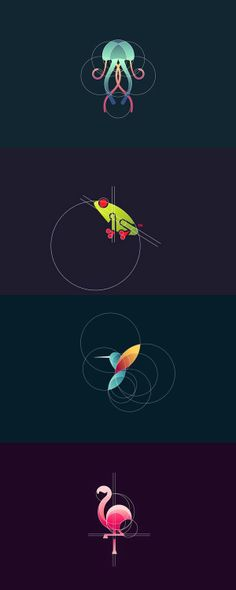 * Logo Design Tips, Graphic Design Inspiration, Icon Design, Typographic Logo, Abstract Logo, Design Poster, Illustrator Tutorials, Animal Logo, Modern Logo