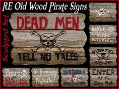 Signs to share with other pirates