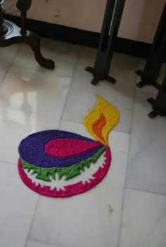 30 Creative Rangoli Designs For Diwali Decoration Easy Rangoli Designs Diwali, Rangoli Simple, Rangoli Designs Latest, Simple Rangoli Designs Images, Rangoli Designs Flower, Free Hand Rangoli Design, Small Rangoli Design, Rangoli Patterns, Colorful Rangoli Designs