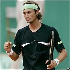 """juan carlos ferrero - my heart throb a few years ago - they called him """"The mosquito"""" because he moved so quickly. New York In August, Kim Clijsters, Nadal Tennis, The Sporting Life, Tennis Legends, Bjorn Borg, Caroline Wozniacki, Ana Ivanovic, Match Point"""