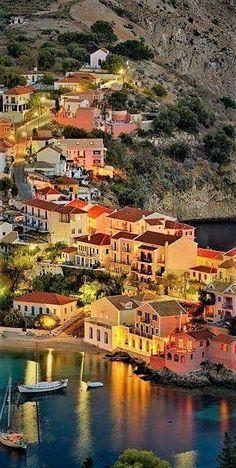 In Kefalonia, Greece.