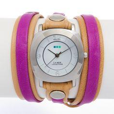 Odyssey Watch Camel/Pink, $88.00