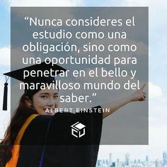 Estudia y tendrás más oportunidades.  #LaCuadraU #Frases #FrasesLCU