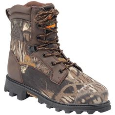 Rocky Children's Insulated BearClaw 3D Hiking and Hunting Boots
