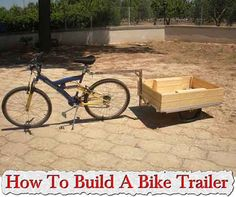 Welcome to living Green & Frugally. We aim to provide all your natural and frugal needs with lots of great tips and advice, **DIY** How To Build A Bike Trailer