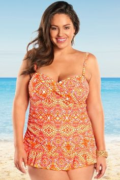 e65985302ed 50 Best Plus Size Swimwear images in 2019   Plus size swimsuits ...