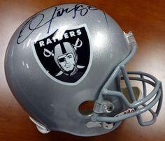 Bo Jackson Autographed Oakland Raiders Full Size Helmet PSA/DNA