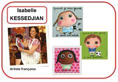 fiche mémoire artiste Isabelle Kessedjian, la maternelle de Wendy
