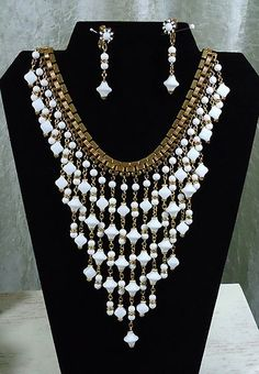 Vintage Miriam Haskell Necklace | eBay