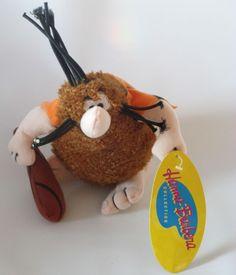 "Hanna Barbera Captain Caveman Plush stuffed animal toy doll new tag cartoon 8"""