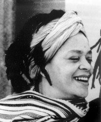 """""""Toni Cade Bambara, born Miltona Mirkin Cade, was a writer, activist, feminist, and filmmaker. Within the highly charged political atmosphere of the civil rights and women's movements, Bambara edited and published an anthology of non-fiction, fiction, and poetry, entitled The Black Woman: An Anthology. An important product of the Black Arts Movement, The Black Woman was the first major feminist anthology featuring work by Nikki Giovanni, Audre Lorde, Alice Walker, Paule Marshall, and others."""