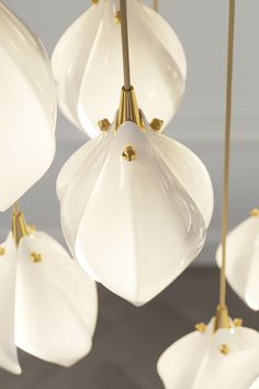 Bloom by Haberdashery is a lighting range inspired by the first blooms of spring London Design Week, Luxury Lighting, Light Installation, Luxury Interior, Glow, Haberdashery, Porcelain, Product Launch, Ceiling Lights