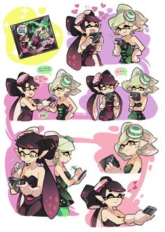 Safebooru is a anime and manga picture search engine, images are being updated hourly. Splatoon 2 Art, Splatoon Comics, Splatoon Memes, Gomi Gomi, Splatoon Squid Sisters, Callie And Marie, Comic Artist, Anime, Game Art