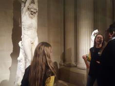 Les jeunes ont la parole au musée du Louvre, 23 mars 2018