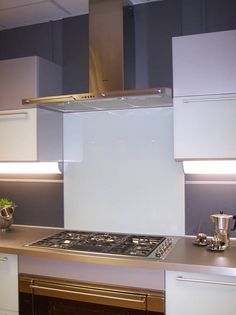 Beautiful glass splashbacks in coloured or printed glass design custom made to size as seen at Grand Designs Live Grand Designs Live, Bathroom Shower Panels, Splashback, Glass Kitchen, Glass Design, House Ideas, Home Decor, Kitchen, Decoration Home