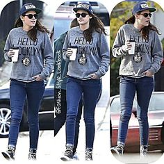 #kristenstewart #hello #brooklyn #jumper #love #her #cool #style #jeans #denim #keds #converse #shoes #robertpattinson #vampire #thecullens #edwardcullen #bellaswan #couple #fashion #style #twilight #newmoon #breakingdawn #drama #thevampirediaries #iansomerhalder #heart... - Celebrity Fashion
