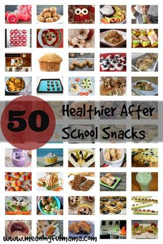 50 Healthy After-School Snacks