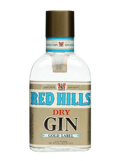 Red Hills Dry Gin / Gold Label / Bot.1970s : Buy Online - The Whisky Exchange - A bottling of Red Hills Gold Label Dry Gin, produced in Italy for the local market in the 1970s.