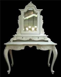 French Dressing Table - FAR026 : Cottonwood Furniture