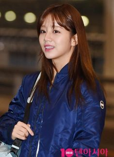 Girl's Day's Hyeri was seen leaving Incheon International Airport on the for Hawaii looking quite relaxed and lovely. Girls Day Members, Girl's Day Hyeri, Girl Day, Asian Beauty, Pop Culture, Hawaii, Hairstyle, Kpop, Actors