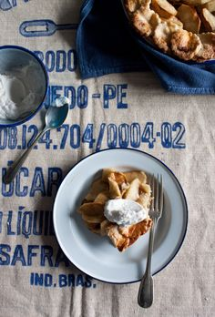 Spelt Apple Tart by Little Upside Down Cake