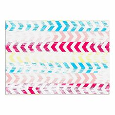 KESS InHouse Louise Machado 'Arrow' Magenta Art Deco Dog Place Mat, 13' x 18' * Unbelievable dog item right here! : Dog food container
