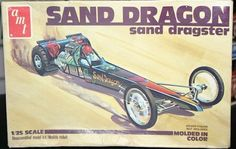 AMT Sand Dragon Sand Dragster box art