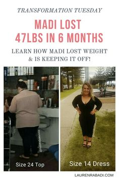Transformation Tuesday: Meet Madi #transformationtuesday #beforeandafterweightloss #keto #lowcarb