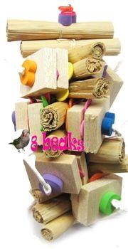 soft balsa blocks, foam noodles and shreddable palm fruit rolls. designed on paper beakeroni rope. Foam Noodles, Parrot Toys, Pet Rabbit, Parrots, Diy Toys, Cherry Tomatoes, Paper Design, Fun Ideas, Palm