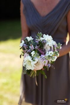 Size example of bridesmaids bouquet Wedding Flower Arrangements, Flower Bouquet Wedding, Bridesmaid Bouquet, Bridesmaids, Purple Wedding, Summer Wedding, Dream Wedding, Summer Flowers, Archer