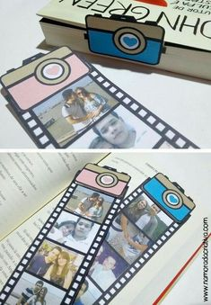 Find images and videos about diy, gift and separador on We Heart It - the app to get lost in what you love. Diy Birthday, Birthday Cards, Birthday Gifts, Cute Crafts, Diy And Crafts, Paper Crafts, Deco Theme Cinema, Cadeau Parents, Ideias Diy