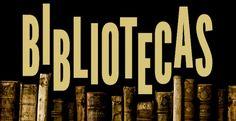 Un detalle de la portada del libro Bibliotecas.