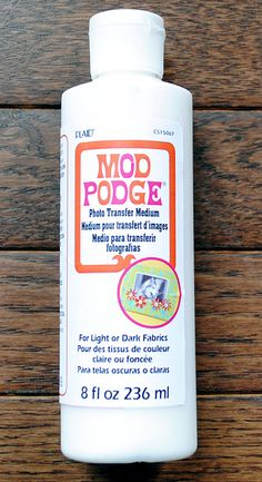Make Silhouette Knobs with Mod Podge Transfer Medium - The Graphics Fairy