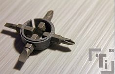 Ti Hex-Bit Driver Ring 4