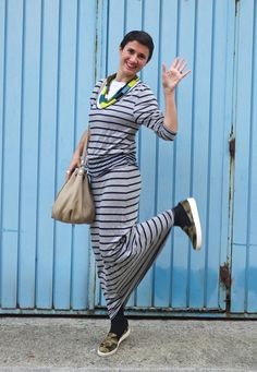 Long dress and camo #kissmylook