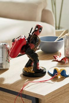 Cable Guys Deadpool Device Holder | Urban Outfitters Sala Geek, Urban Outfitters, Star Wars Darth, Darth Vader, Lifestyle Shop, 3d Prints, Game Controller, Cleaning Wipes, Deadpool
