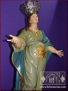 Virgen embarazada, Eglise san Juan, Orihuela, Espagne