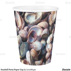 Seashell Party Paper Cup