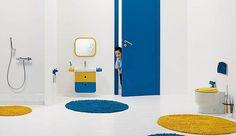 Diseño de Cuarto de Baño para Niños - Para Más Información Ingresa en: http://modelosdecasasmodernas.com/2014/01/09/diseno-de-cuarto-de-bano-para-ninos/