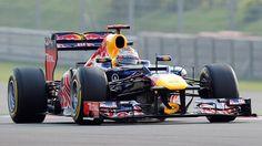 Red Bull Racing's Sebastian Vettel - Four Time World FormulaOne Champion.