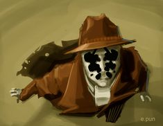 Rorschach by pungang on deviantART