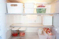 冷蔵庫をスッキリさせたい!保存容器選びは「白」&「透明」がキーワード