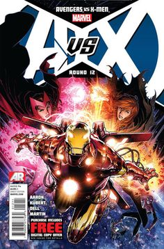 From Marvel: Avengers vs. X-Men by Jason Aaron, Jim Cheung and Adam Kurbert. Released October 3, 2012. Find it at your local comic book store/online store today!